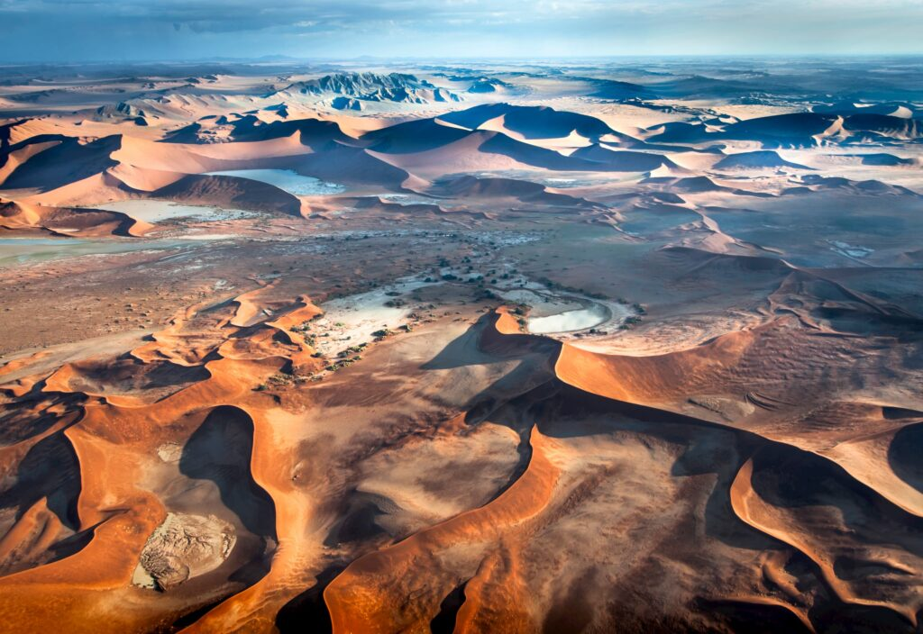 Dunes from the air